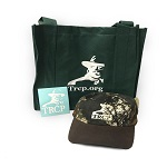 TRCP Swag Bag (Decal, Camo hat, Tote)