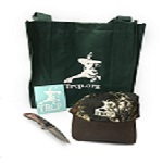 TRCP Swag Bag (Decal, Camo hat, Tote) + Knife